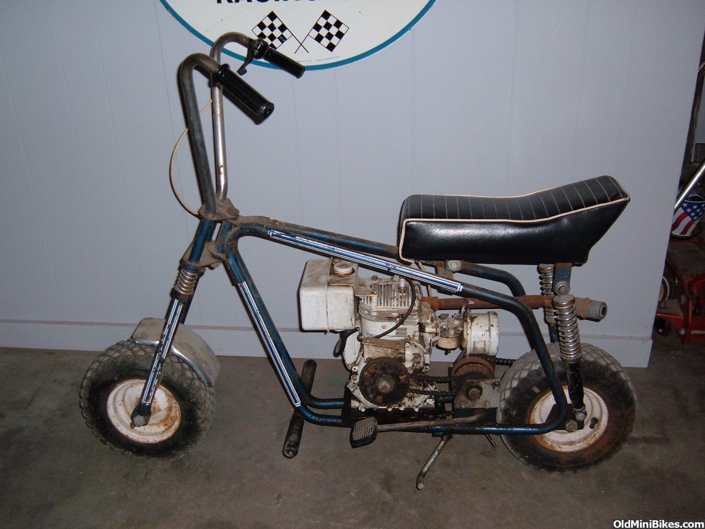 Vintage Mini Bike 34