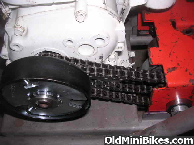 Three Chain Two Speed Transmission Illustrated