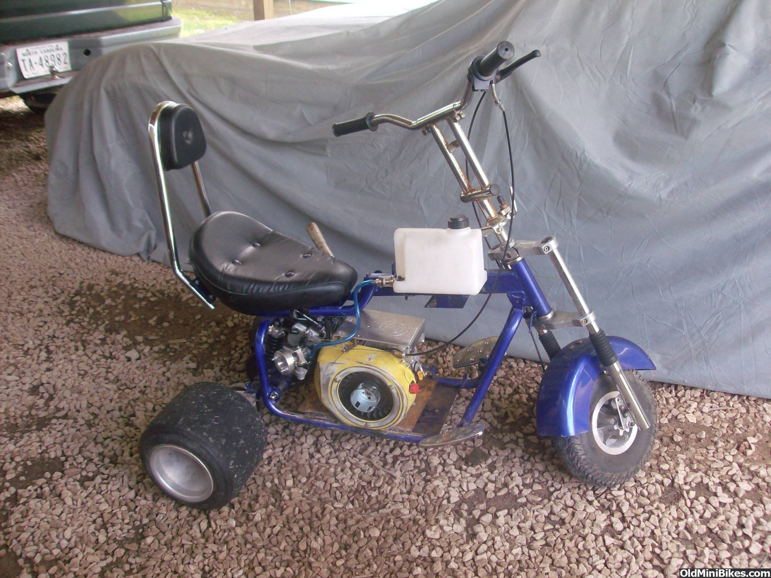 3 Wheel Mini Bike : Drag wheeler mini bike