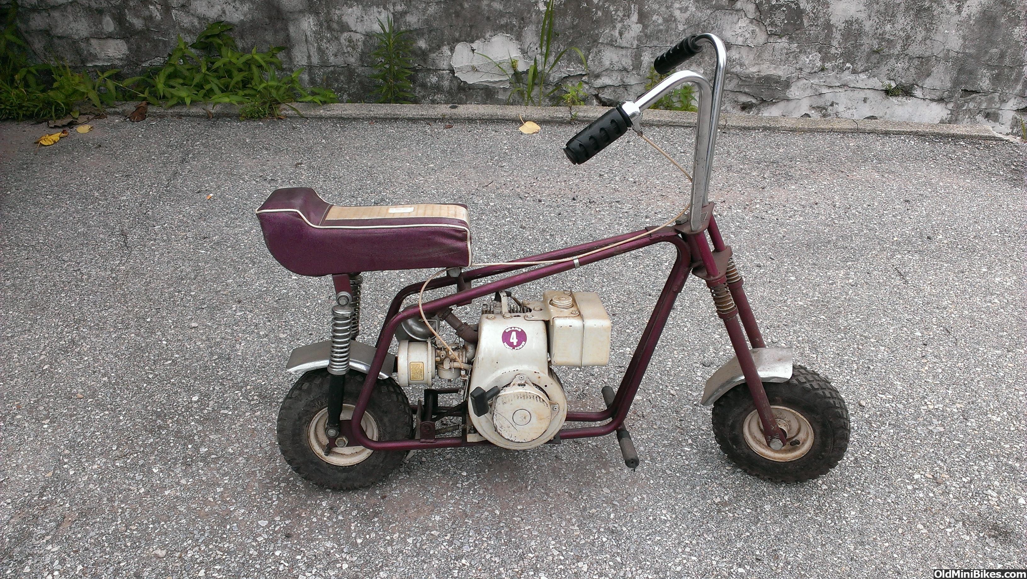 Thread for sale 1960s sears 4hp mini bike