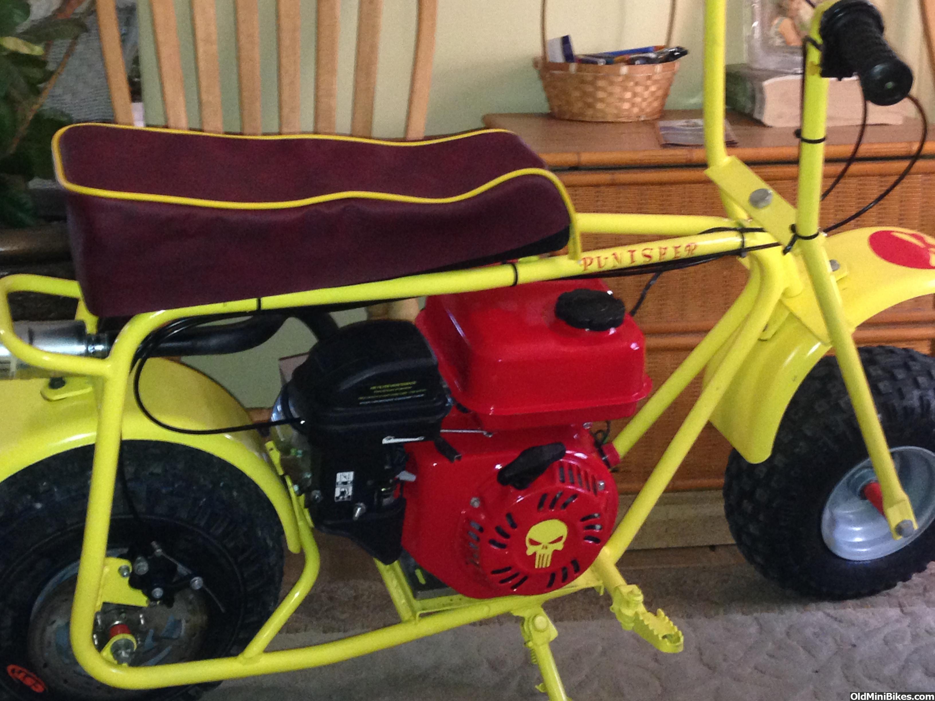 Baja Mini Bike Seat : Doodlebug seat covers