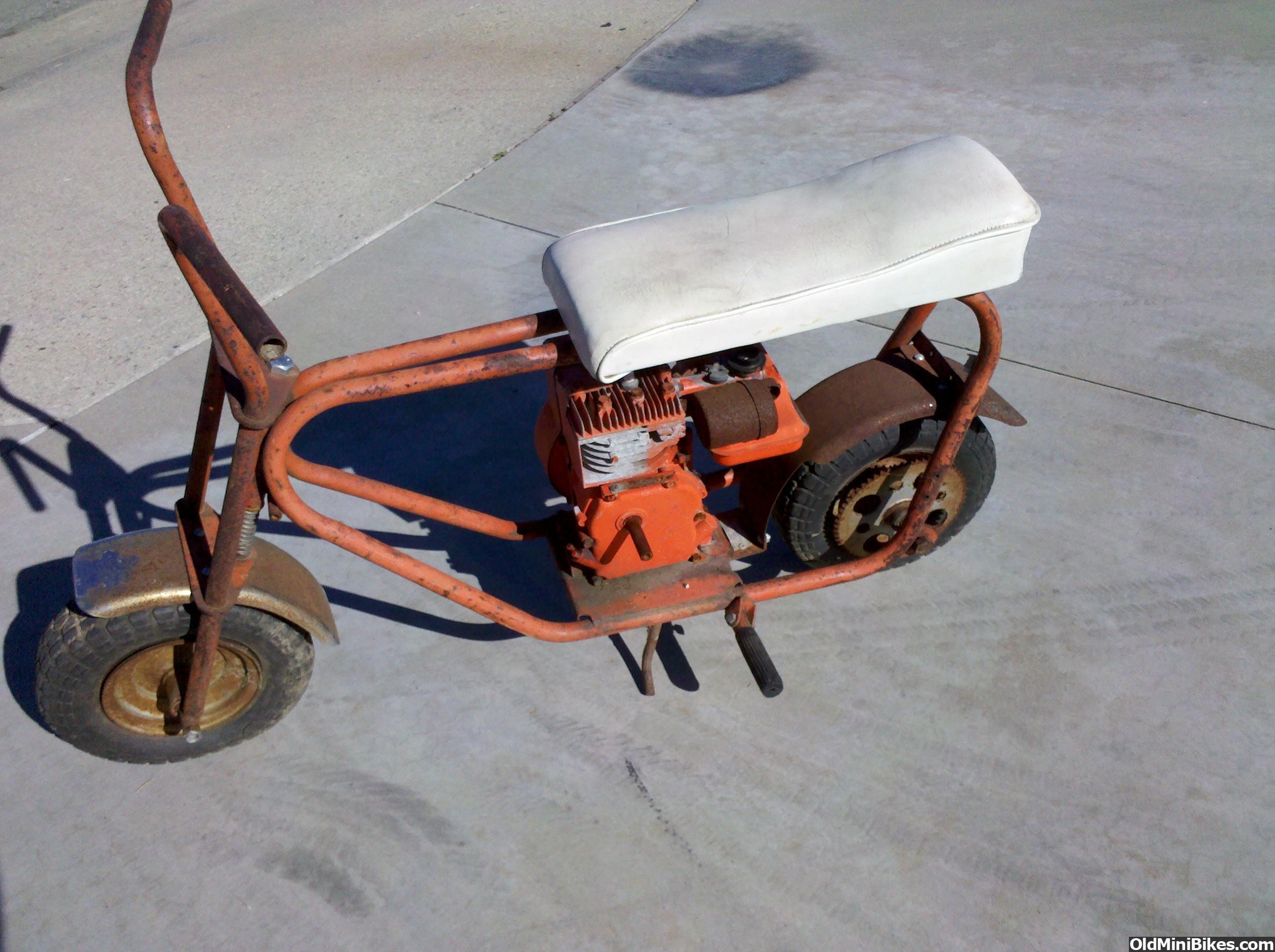 Mtd Mini Bike : Mtd roller