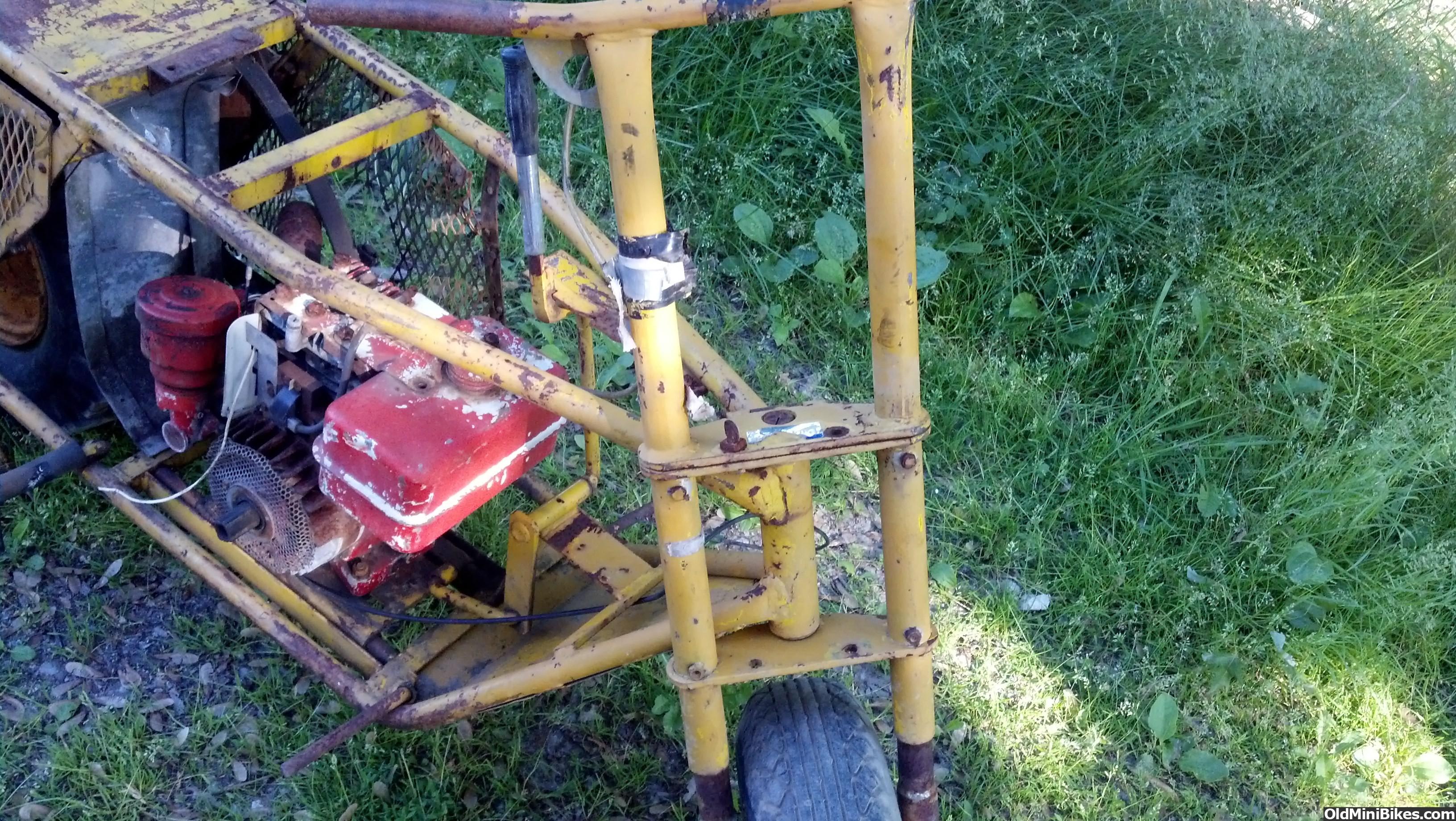 Pack Mule Mini Bike : Pack mule