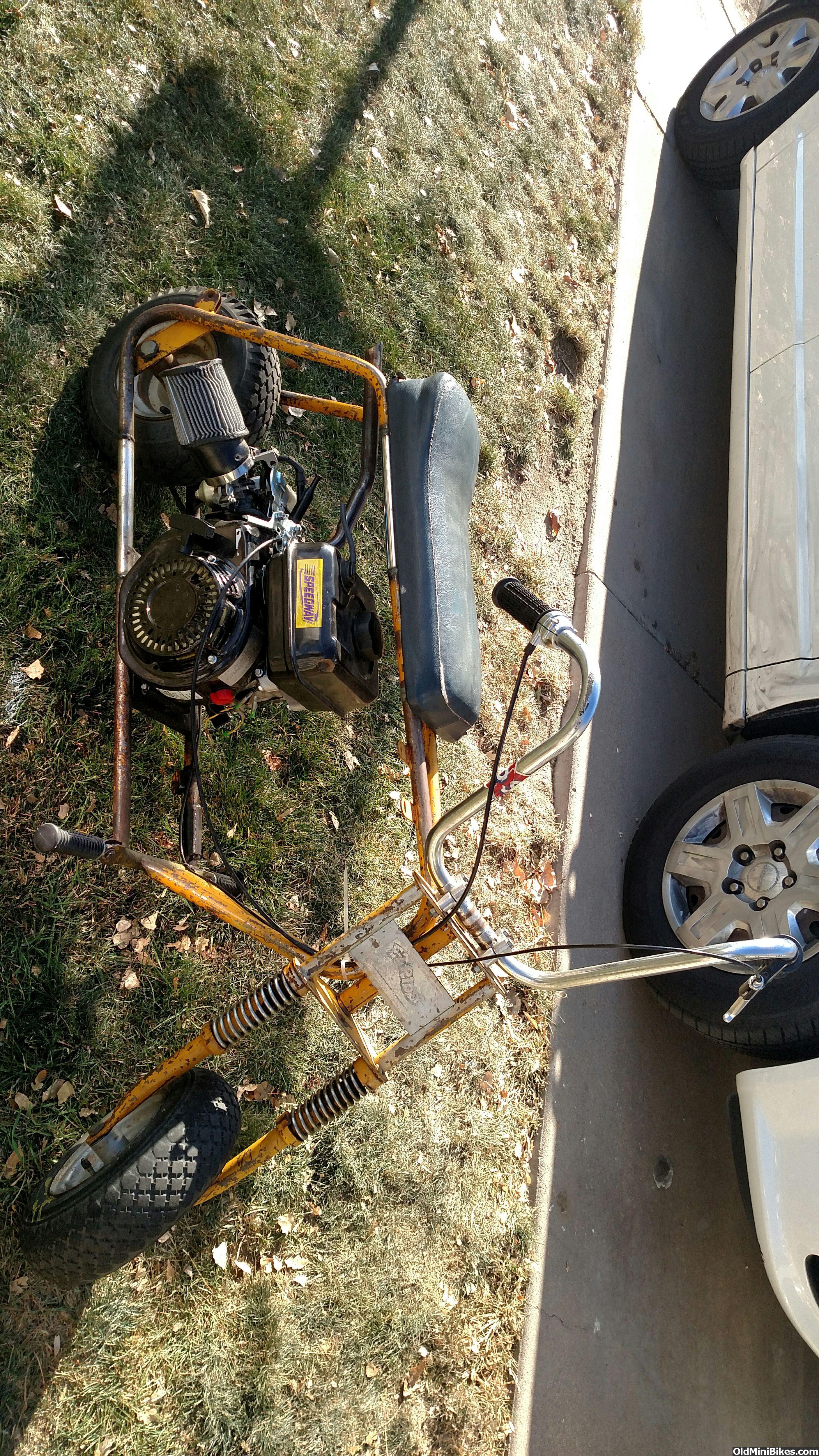 Mini Bike Seat Shocks : In search of original arco easyrider suspension seat and