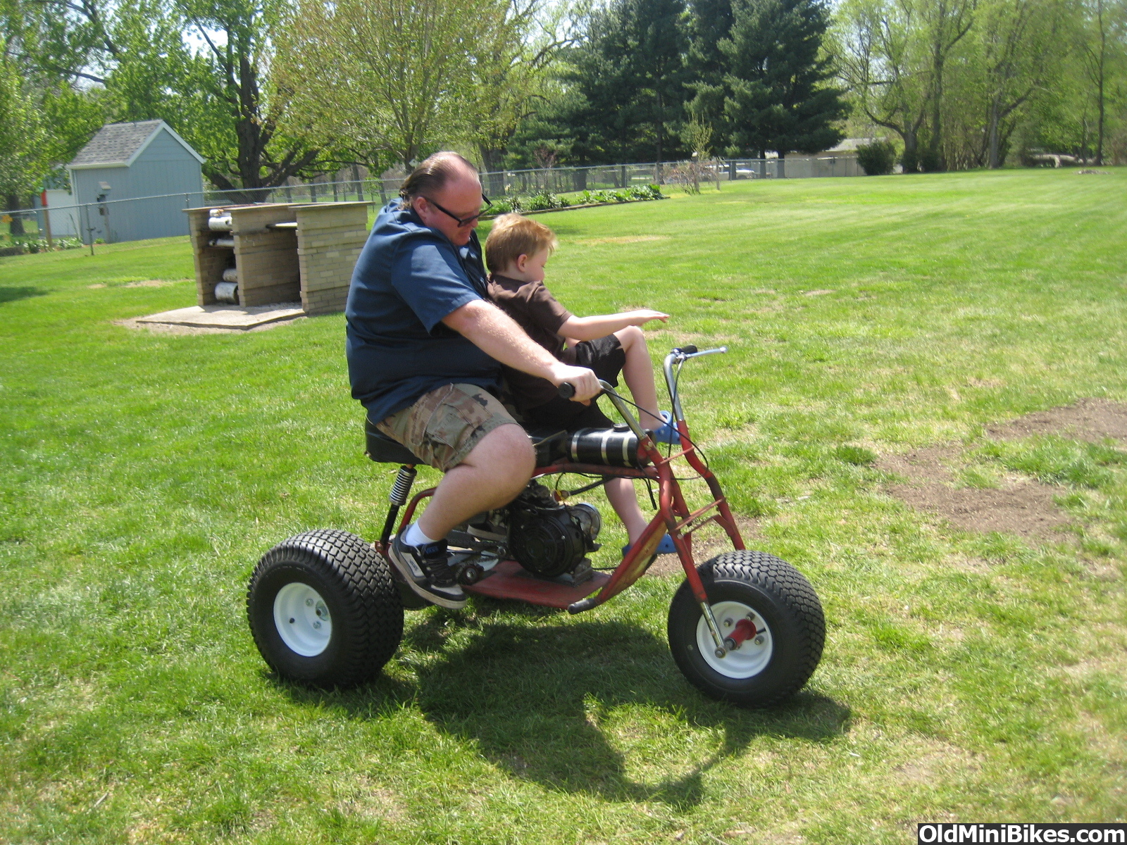 3 Wheel Mini Bike : Pin mini bike trike kit images crazy gallery on pinterest