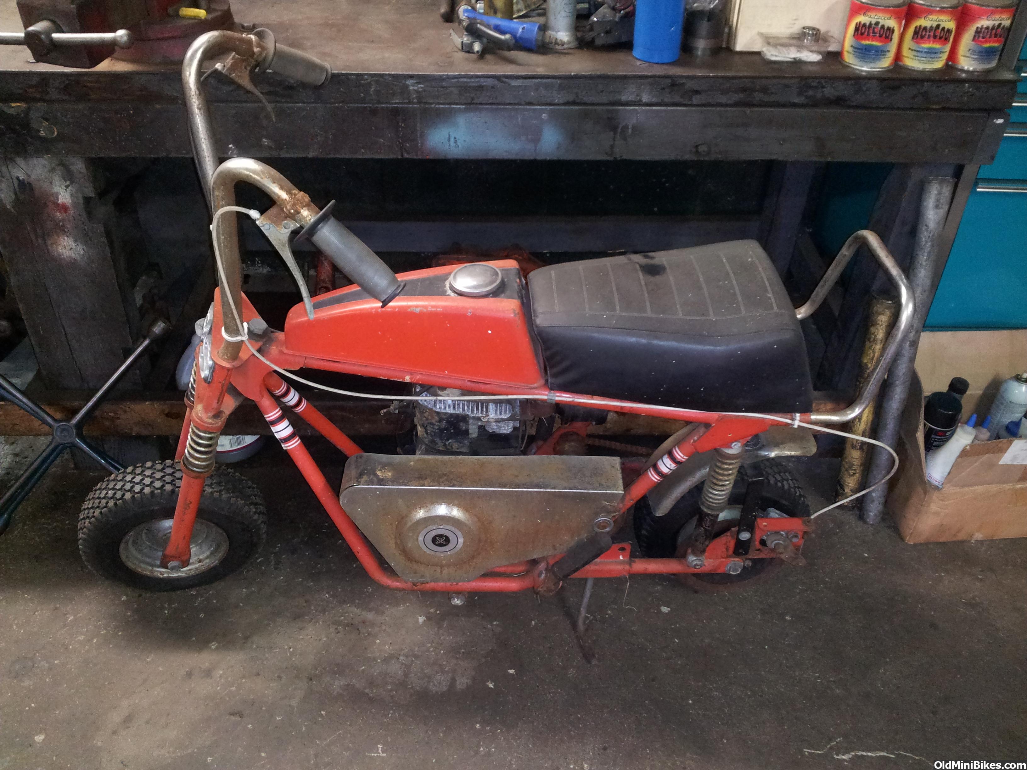 Thread 1970 s sears roper mini bike