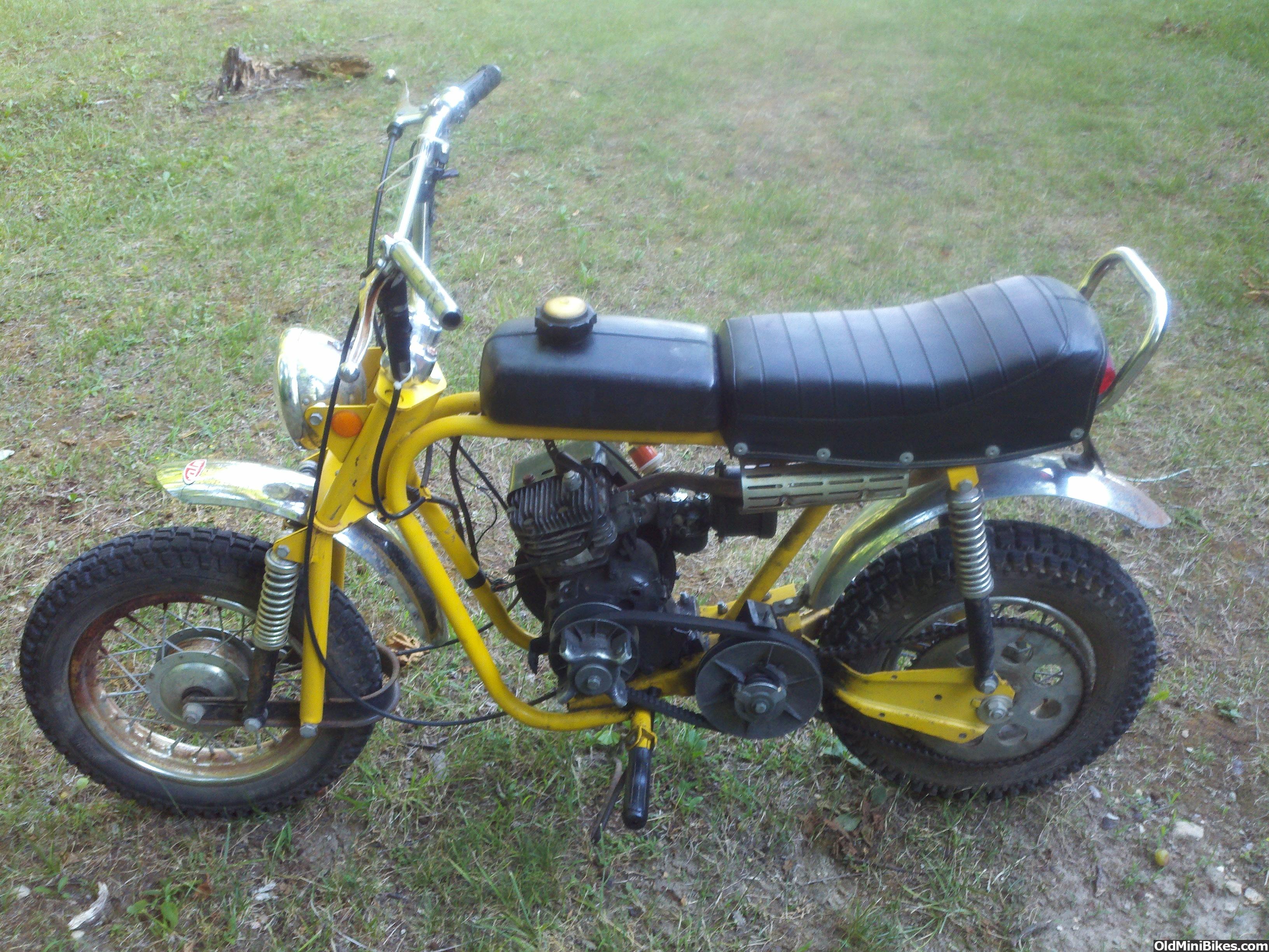 Mtd Mini Bike : Old mtd mini bike