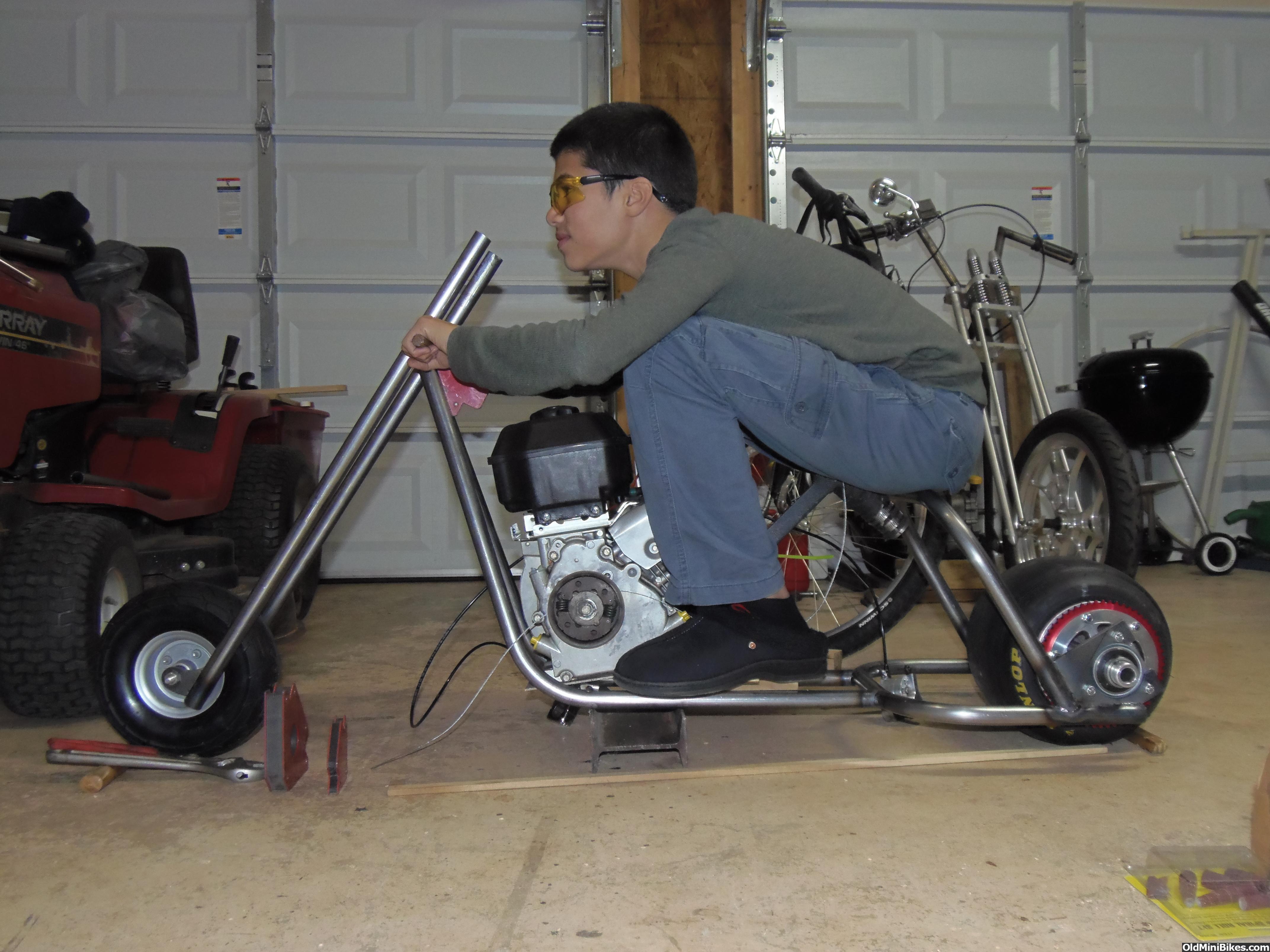 Mini drag bike project