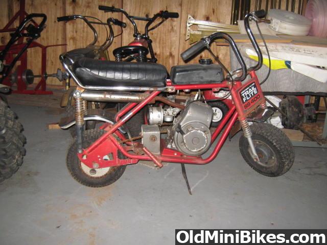 Mtd Mini Bike : Mtd trail flight ss
