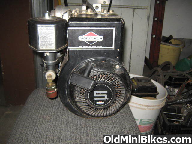 Carb options on Briggs 5hp | OldMiniBikes com