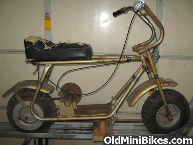 Vintage mini bikes brake parts