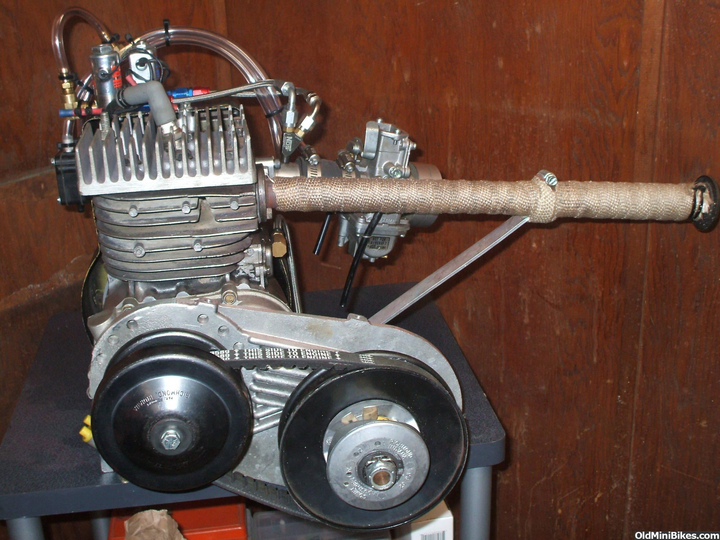 Briggs Raptor Racing Engine