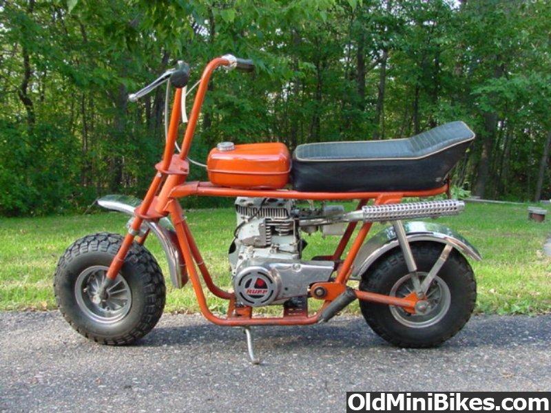 Mini Bike Seat Shocks : It s a rupp but what the model