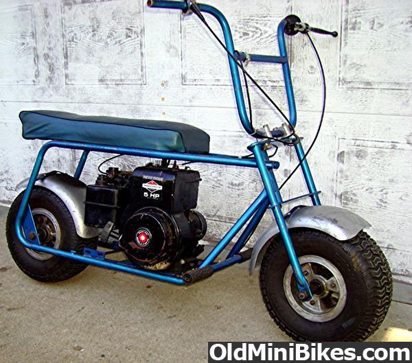 Pack Mule Mini Bike : Harrison wild cat and ruttman pack mule long seat