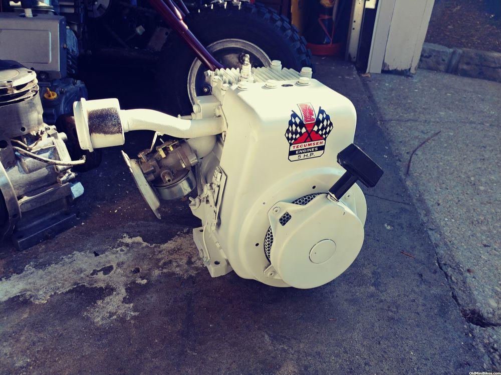 Tecumseh H50 minibike engine!   OldMiniBikes com
