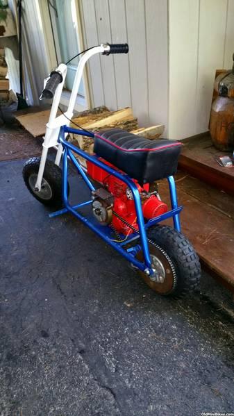 Mini Bike Junkyard : Wanted stellar compact deluxe mini bike complete do not