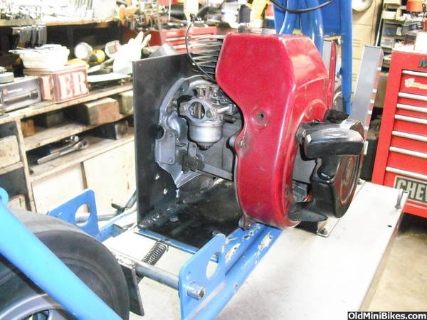 Vertical Shaft Engine Go Kart : Convert vertical shaft motor to horizontal impremedia