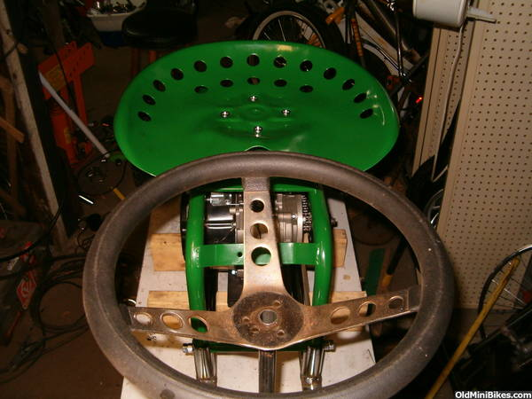 Tractor Seat For Bike : Tractor seat racer