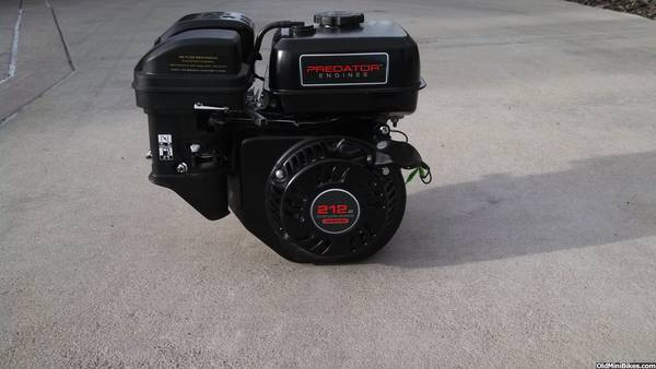 Thread: 6.5 HP 212 cc Predator Engine