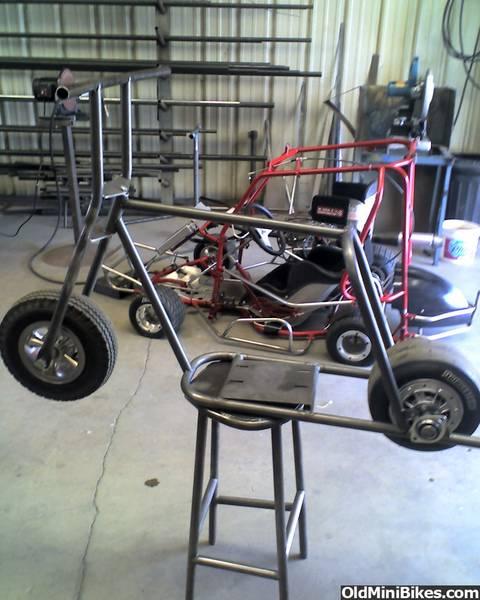 Wtb Mini Bike Frame And Fork Or Roller
