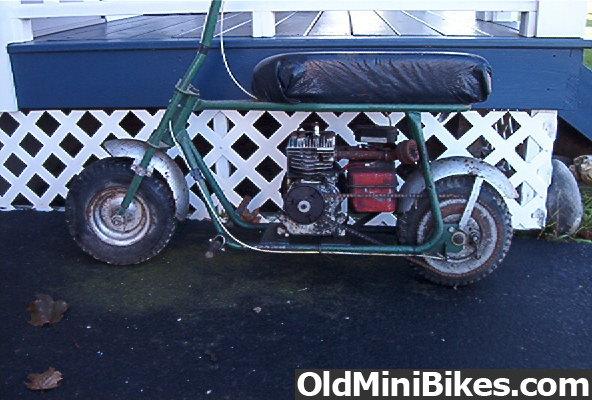 Mini Bike Junkyard : Wanted cyclops clark fenders