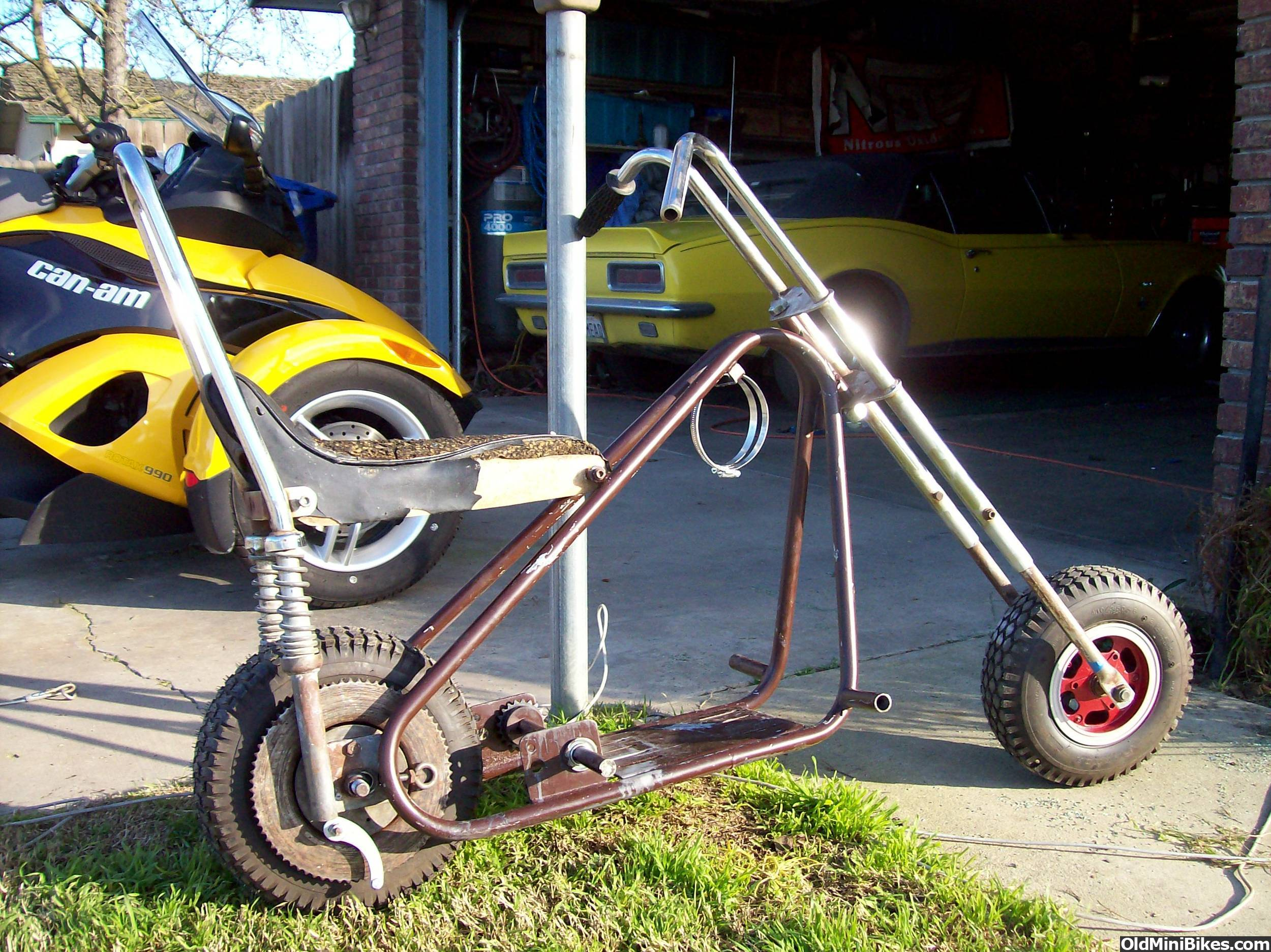 hurry guys a really rare chopper on cl in my area - Mini Chopper Frame