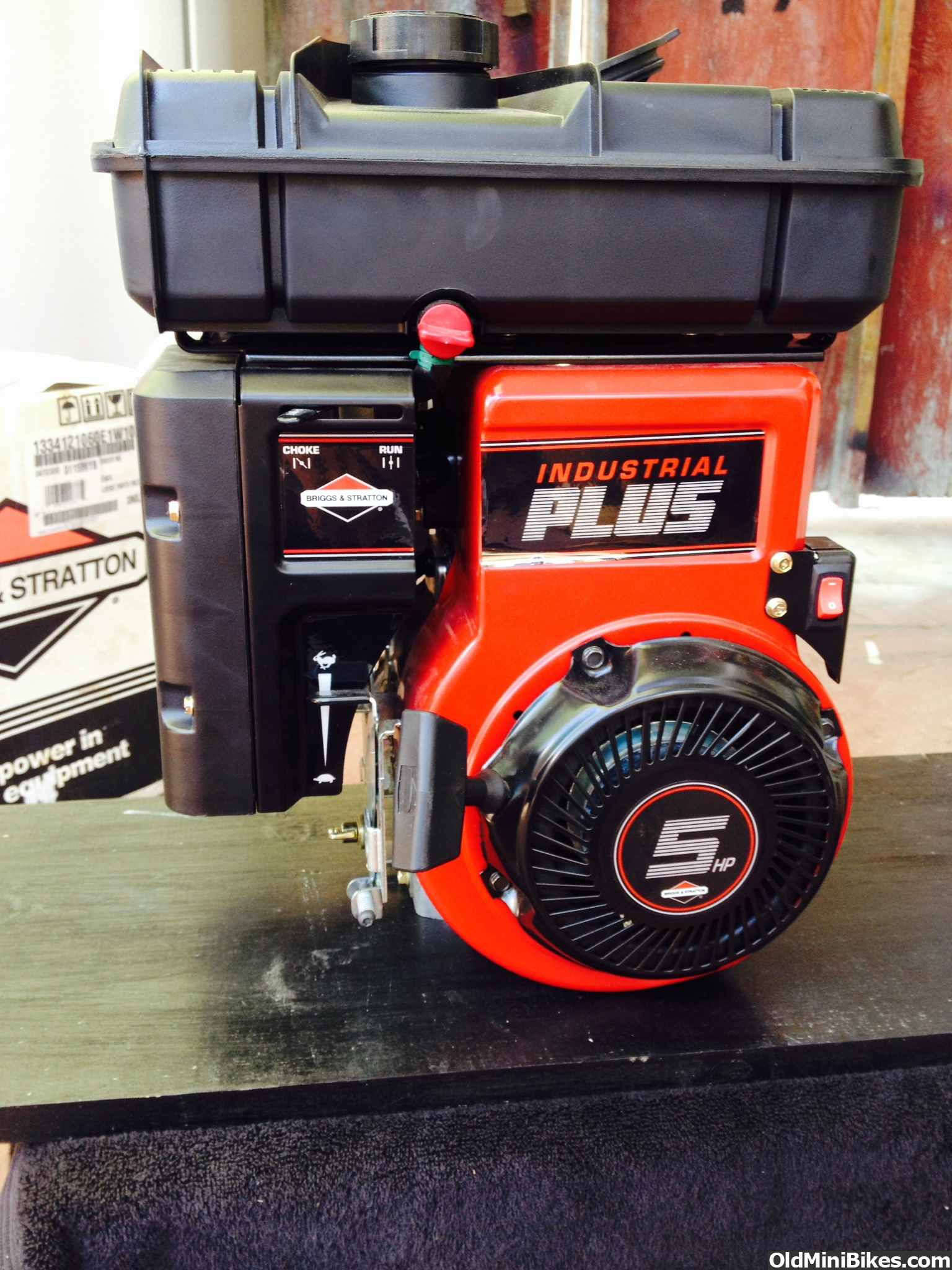 nos briggs and stratton industrial plus 5hp. Black Bedroom Furniture Sets. Home Design Ideas