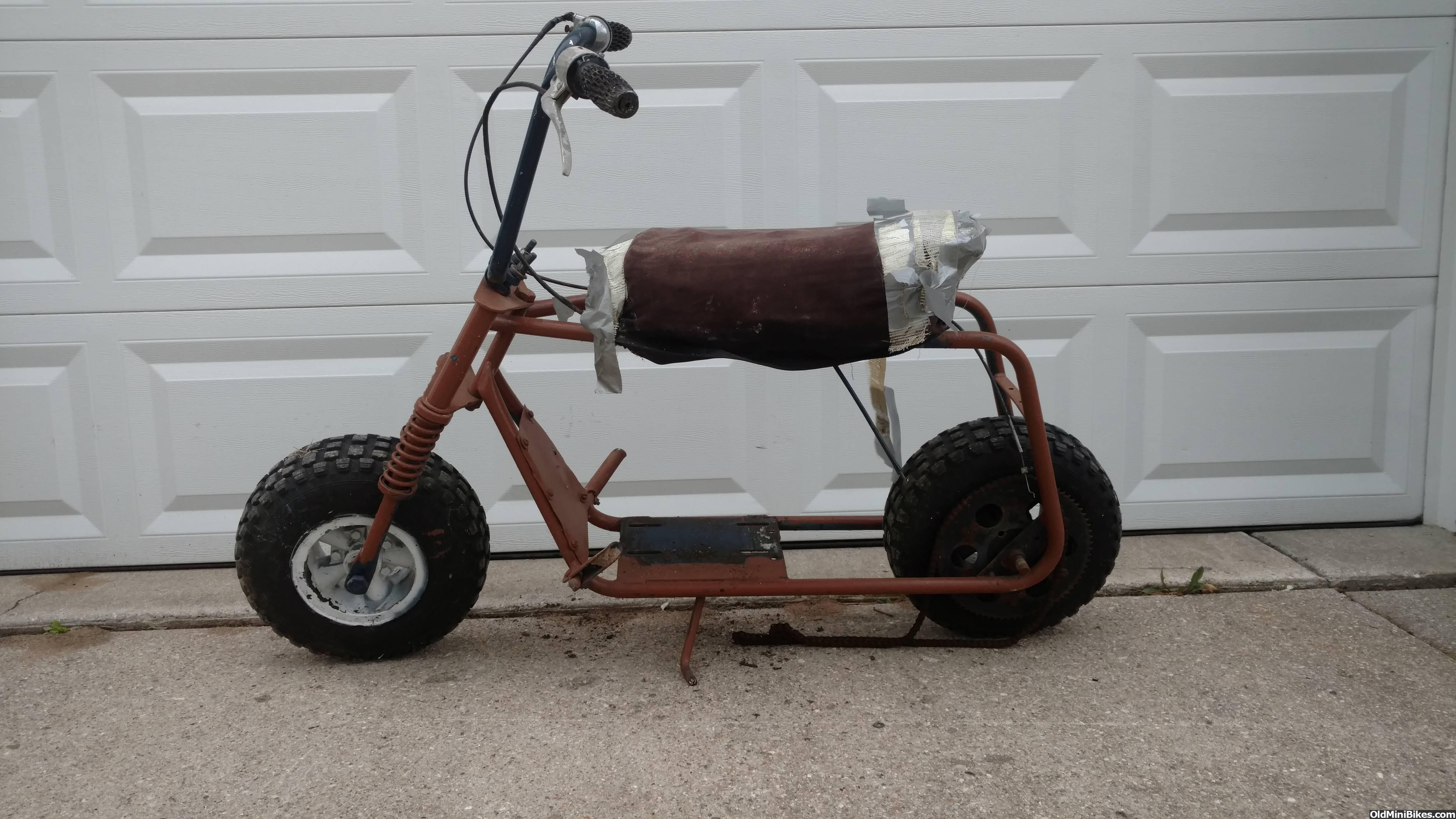Fat Bike For Sale >> Ruttman Spyder mini bike rolling chassis