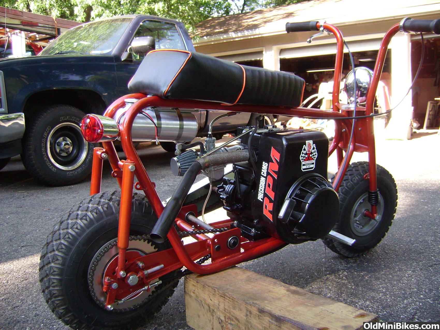 Baja Warrior Mini Bike Engine Swap
