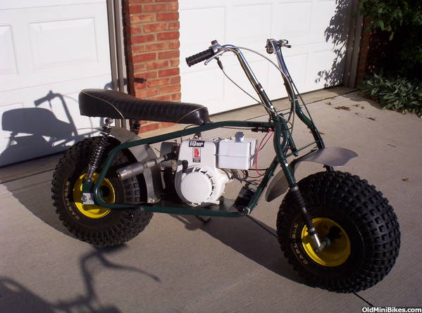 3 Wheel Mini Bike : How big is too for a wheeled mini page