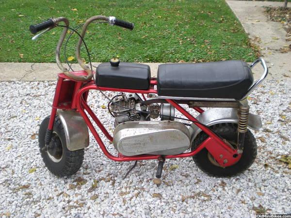 Mtd Mini Bike : I m new need help