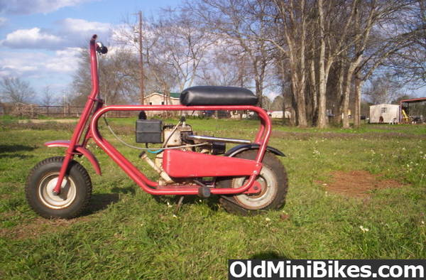 Mtd Mini Bike : Mtd columbia band brake setup help