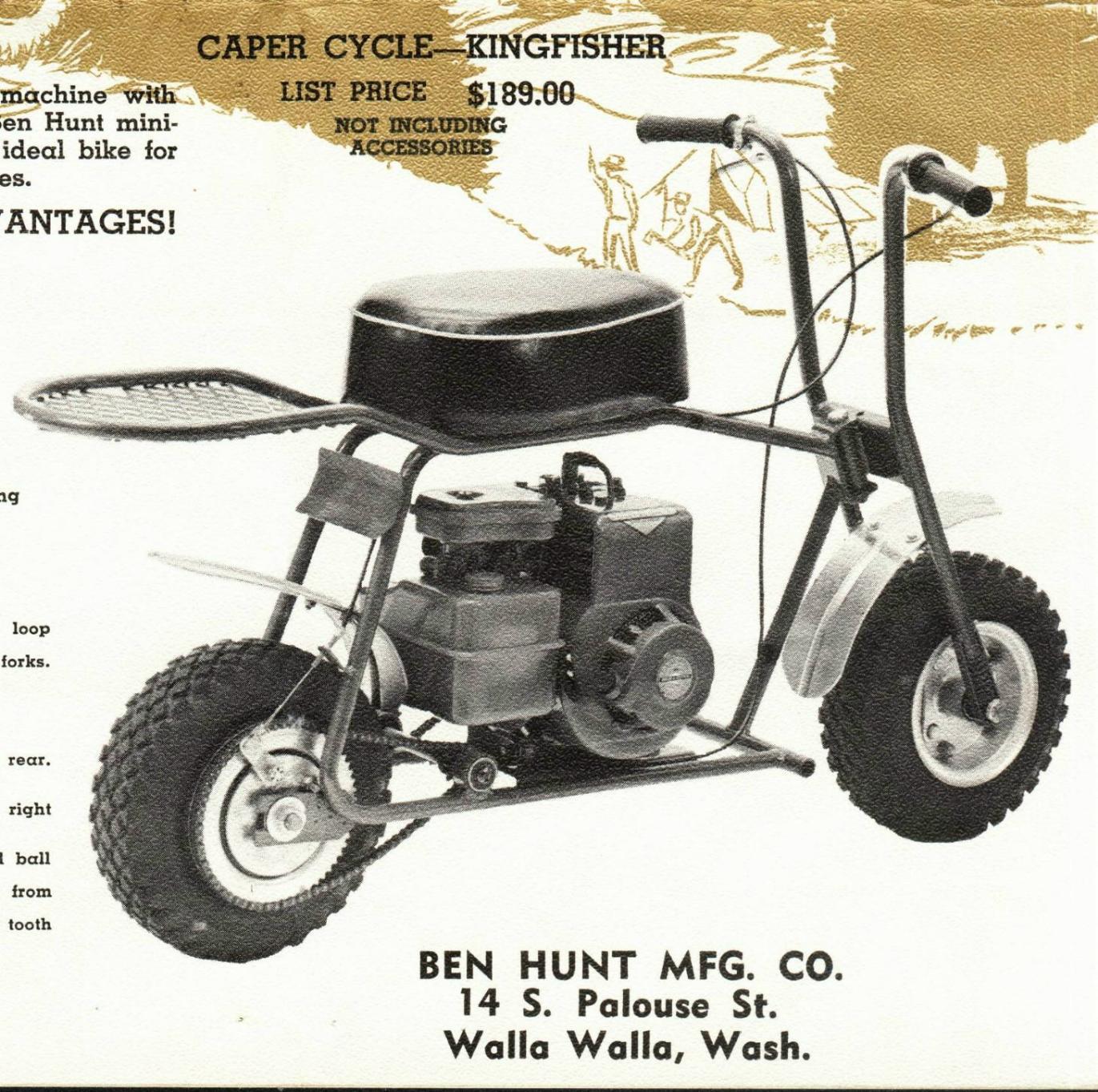 Vintage Mini Bike 43
